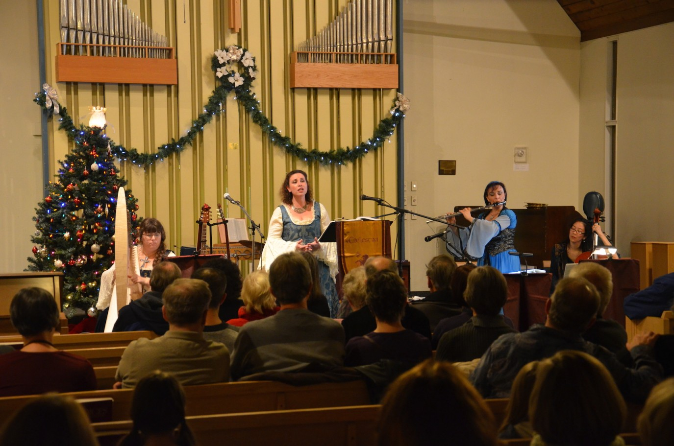 """a Caelestra Christmas"" Show in Port Moody, November 2015"